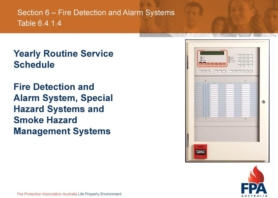 Fire Detection and Alarm System,