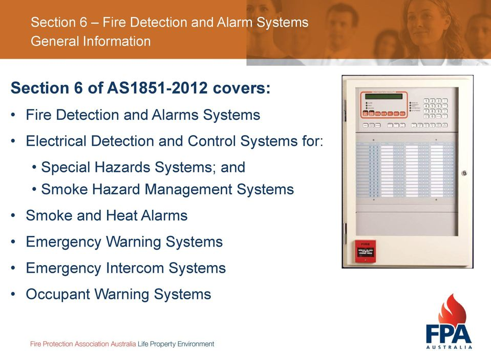 Hazards Systems; and Smoke Hazard Management Systems Smoke and Heat