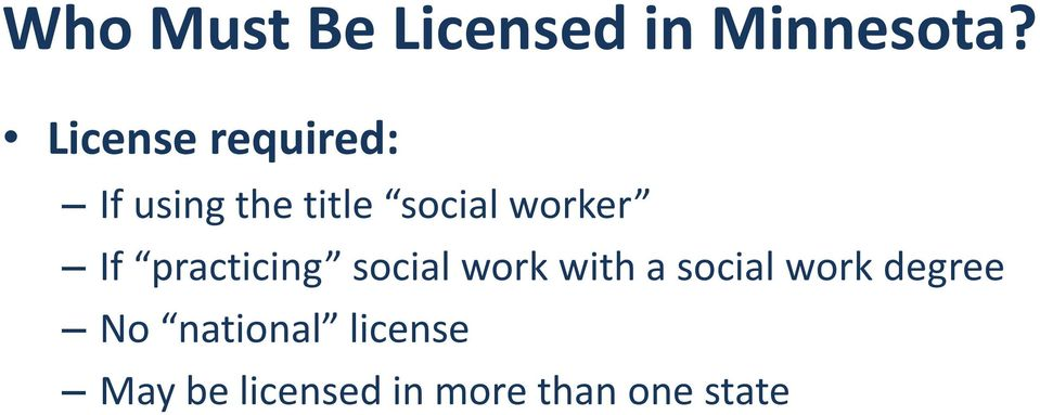 worker If practicing social work with a social
