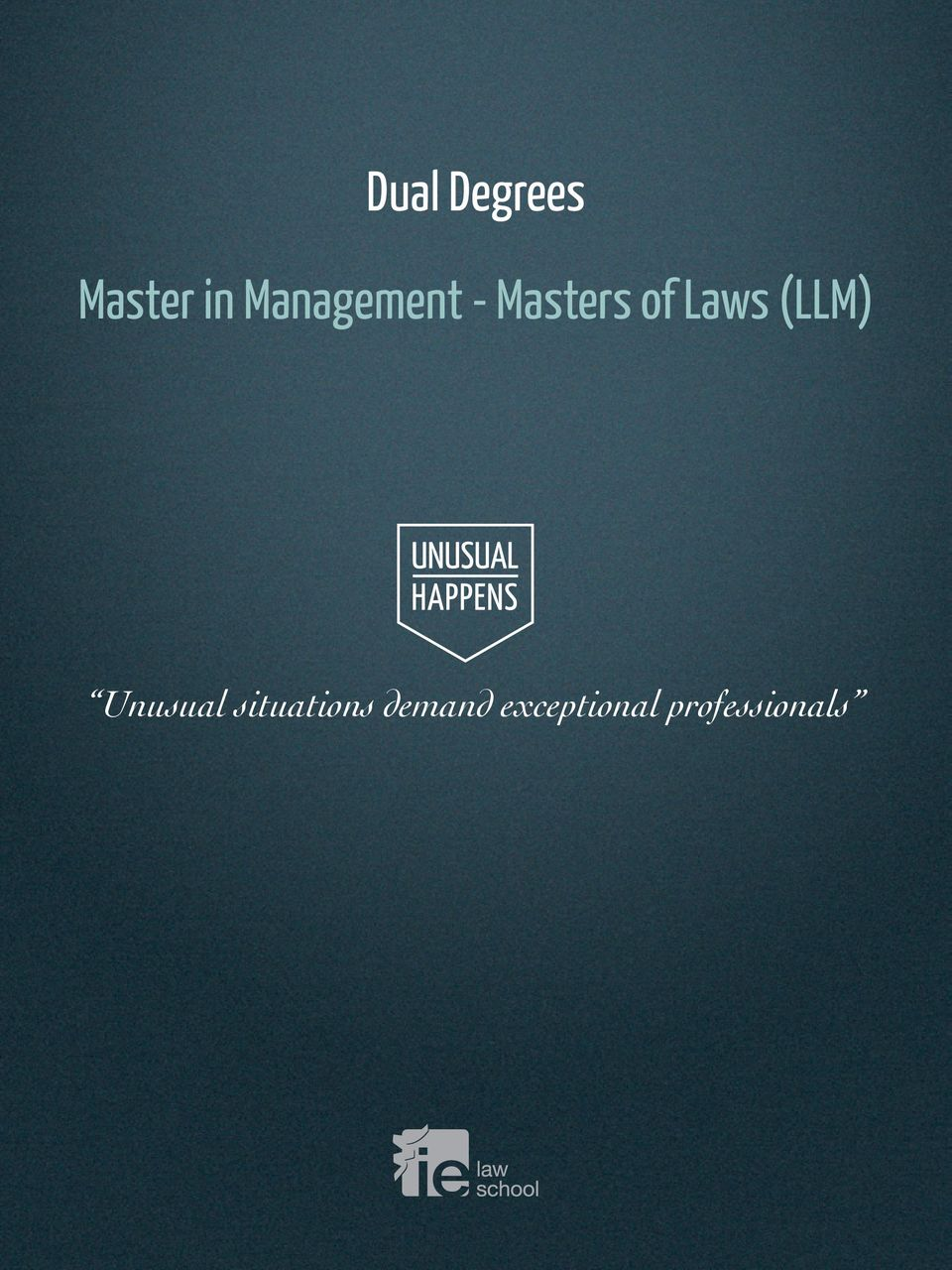 Laws (LLM) Unusual
