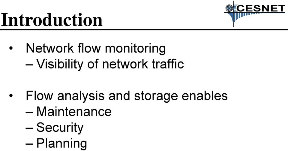 traffic Flow analysis and