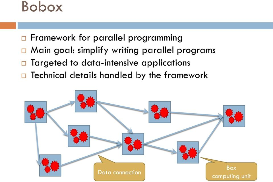 to data-intensive applications Technical details