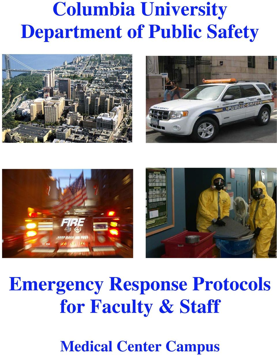 Emergency Response Protocols