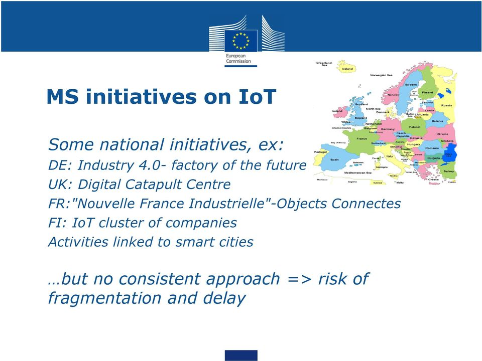 "Industrielle""-Objects Connectes FI: IoT cluster of companies Activities"