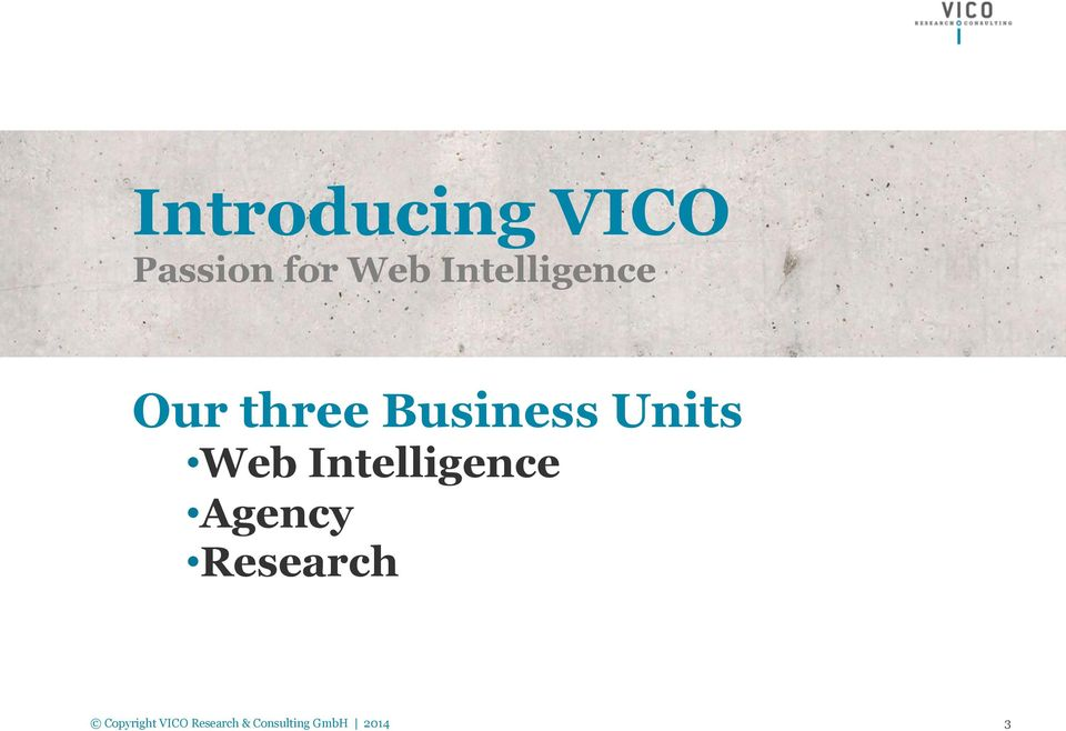 three Business Units Web