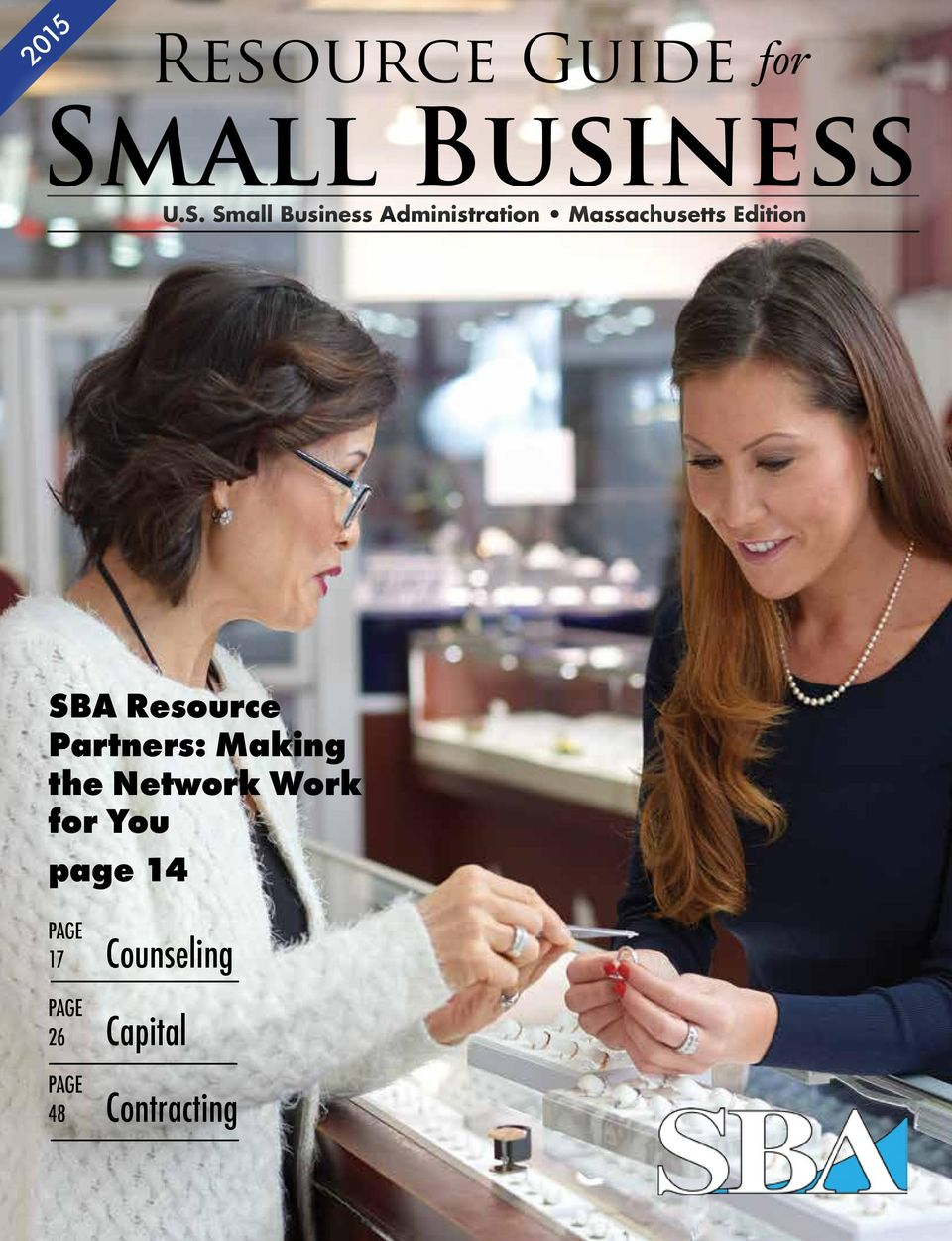 Small Business Administration Massachusetts Edition