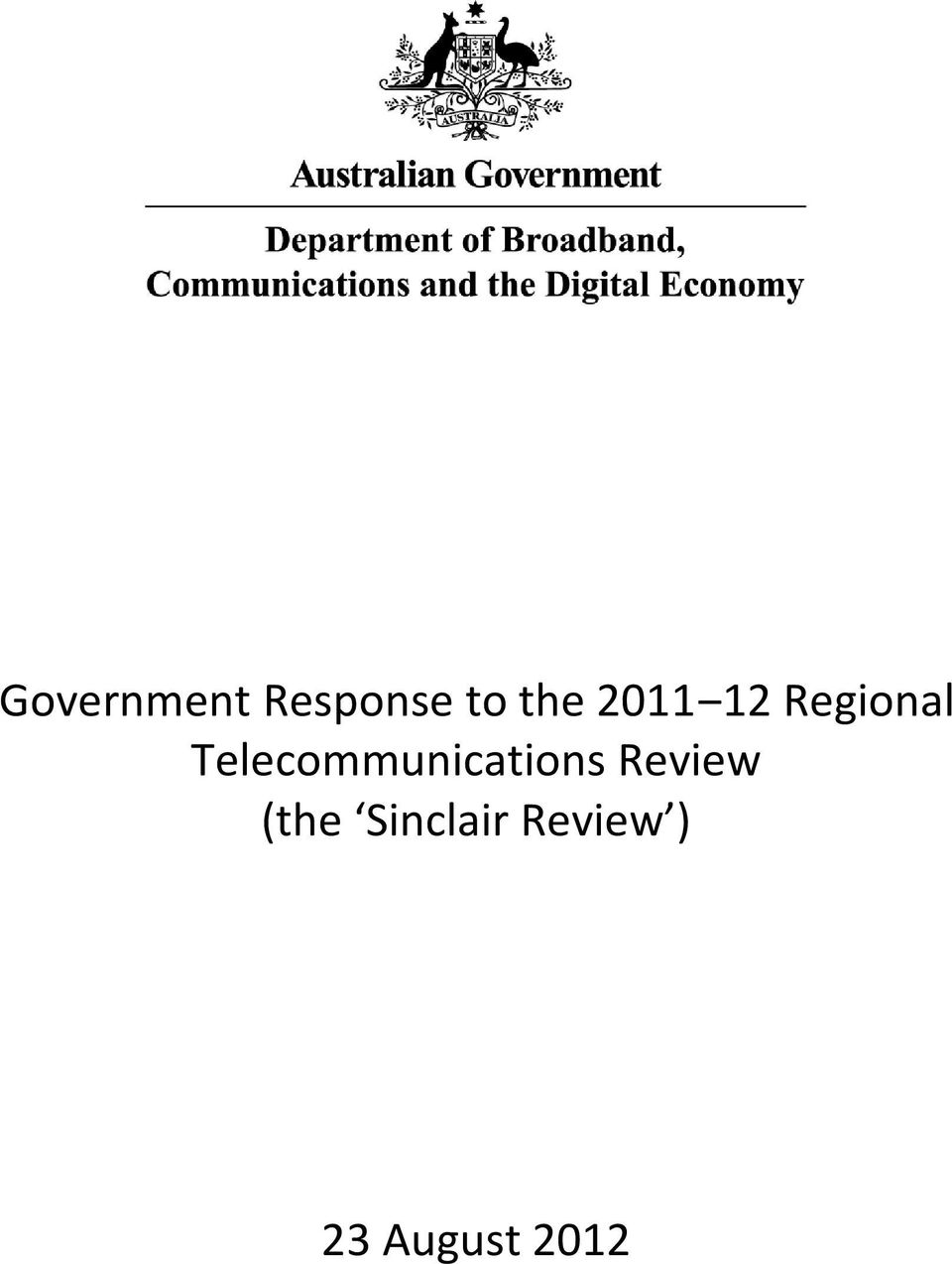 Telecommunications Review