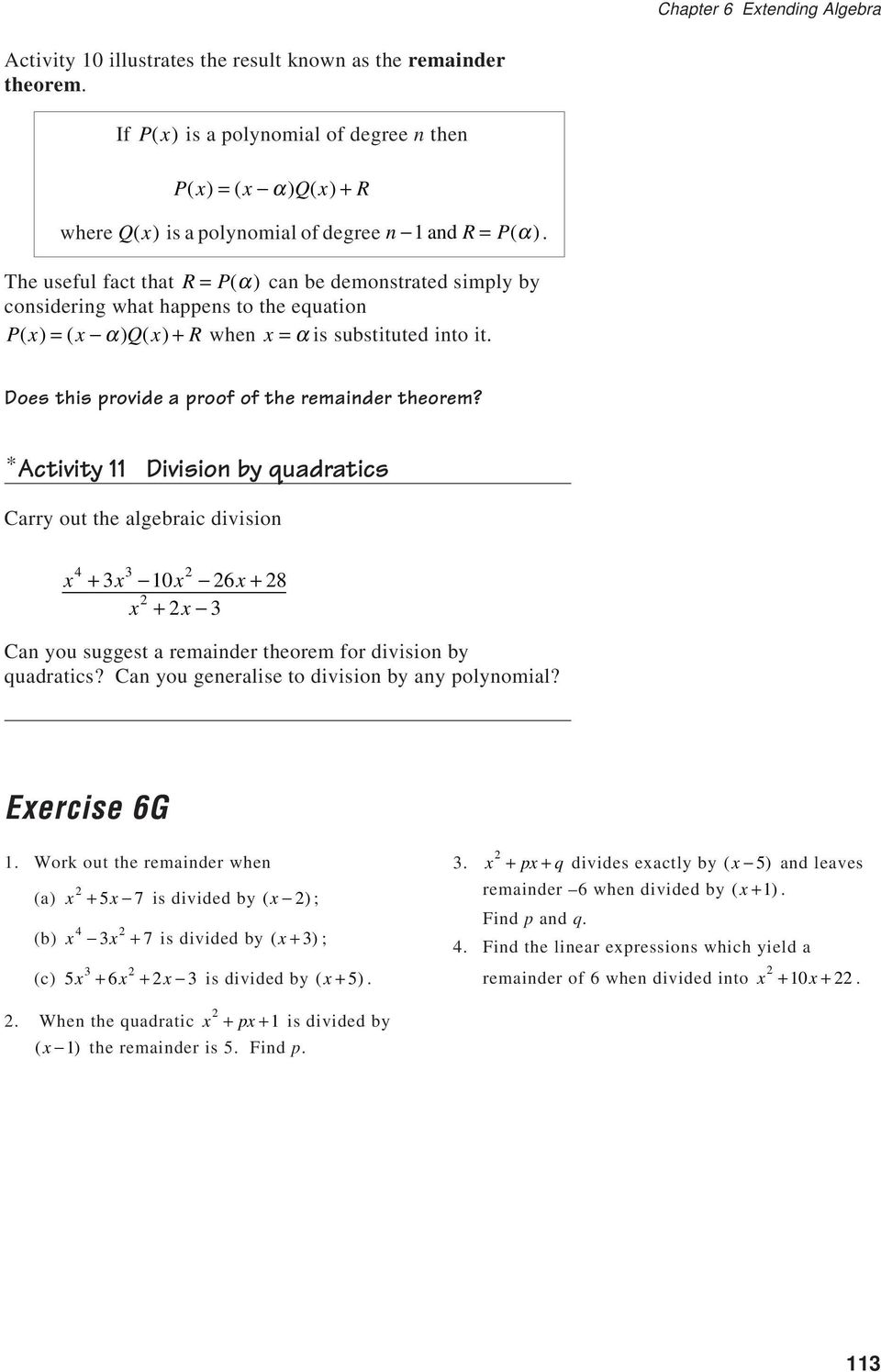 Solving Cubic Equations By Factoring Worksheet Jennarocca – The Remainder Theorem Worksheet