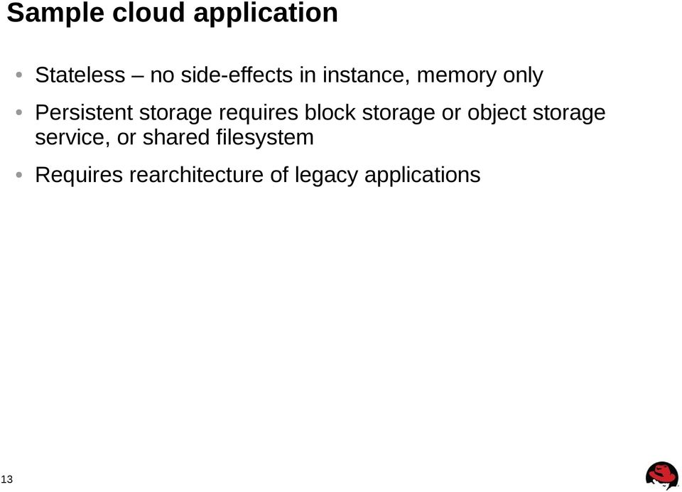block storage or object storage service, or shared