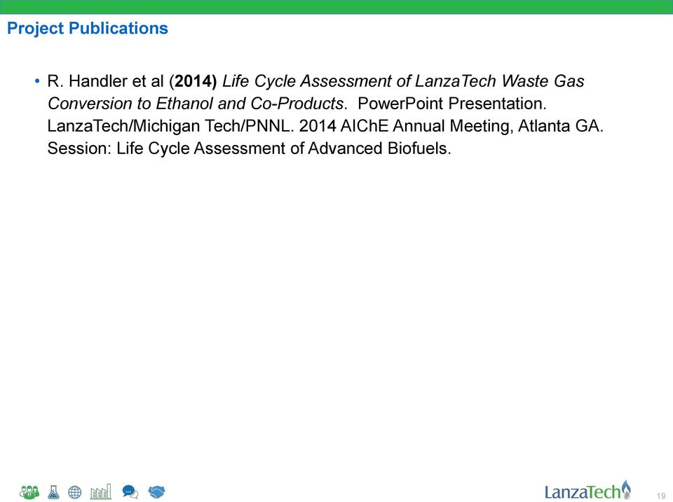 Conversion to Ethanol and Co-Products. PowerPoint Presentation.