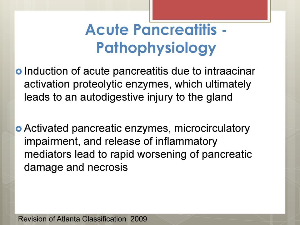 Activated pancreatic enzymes, microcirculatory impairment, and release of inflammatory