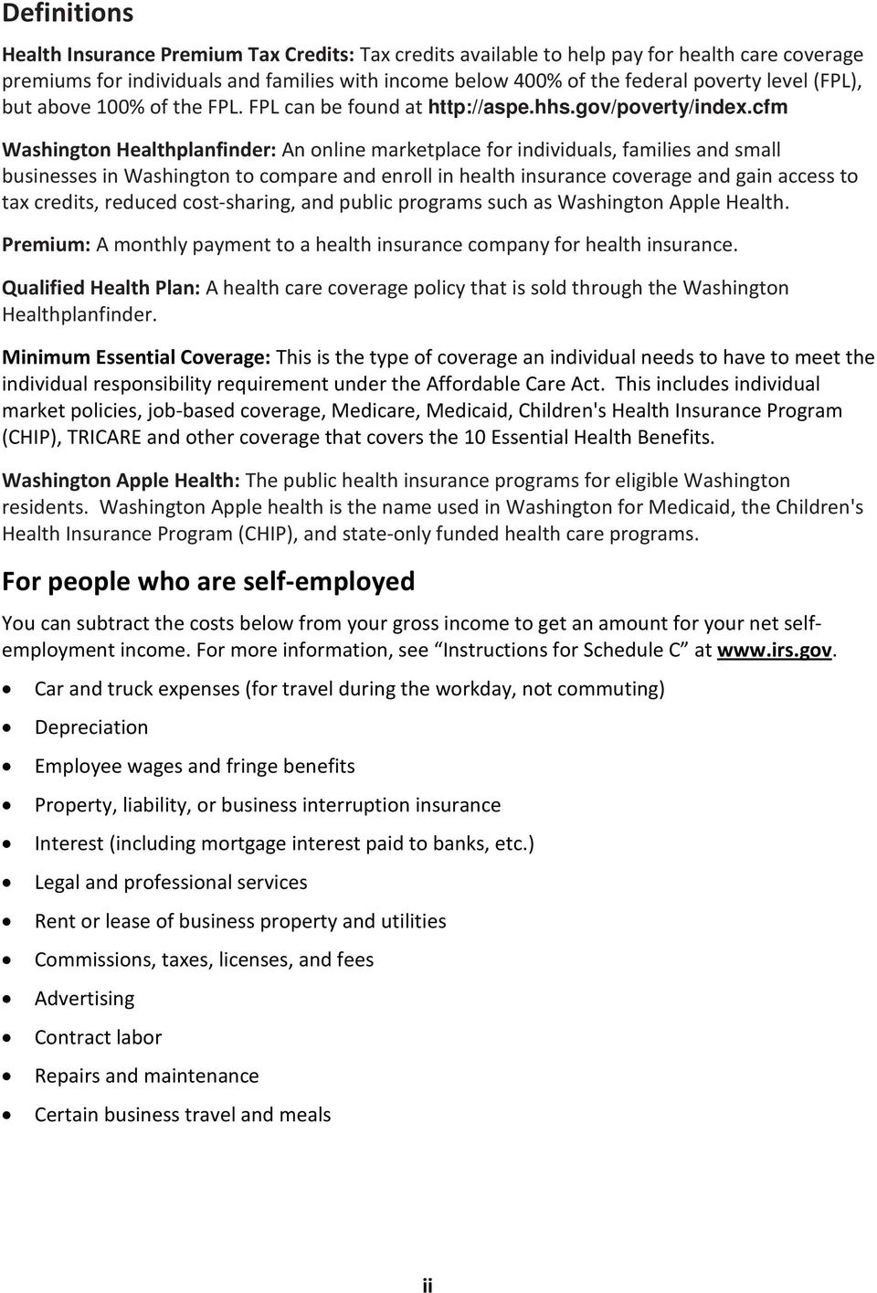 cfm Washington Healthplanfinder: An online marketplace for individuals, families and small businesses in Washington to compare and enroll in health insurance coverage and gain access to tax credits,