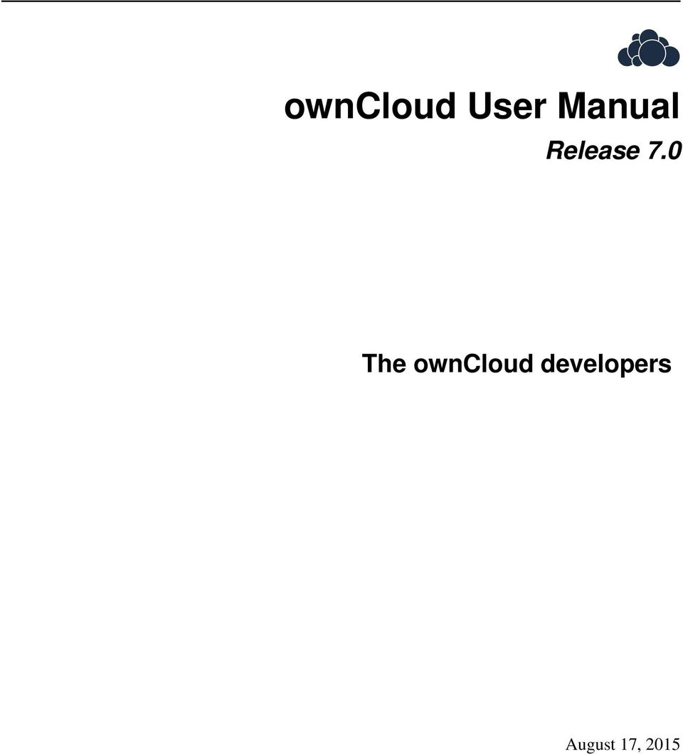 0 The owncloud