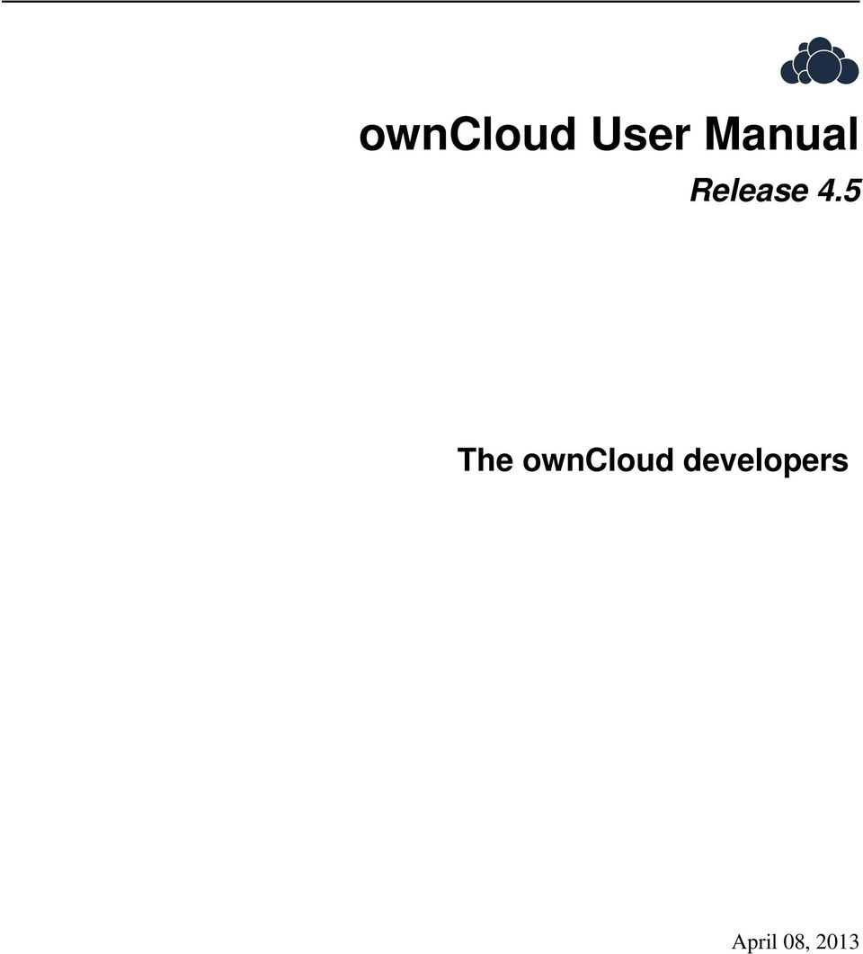 5 The owncloud