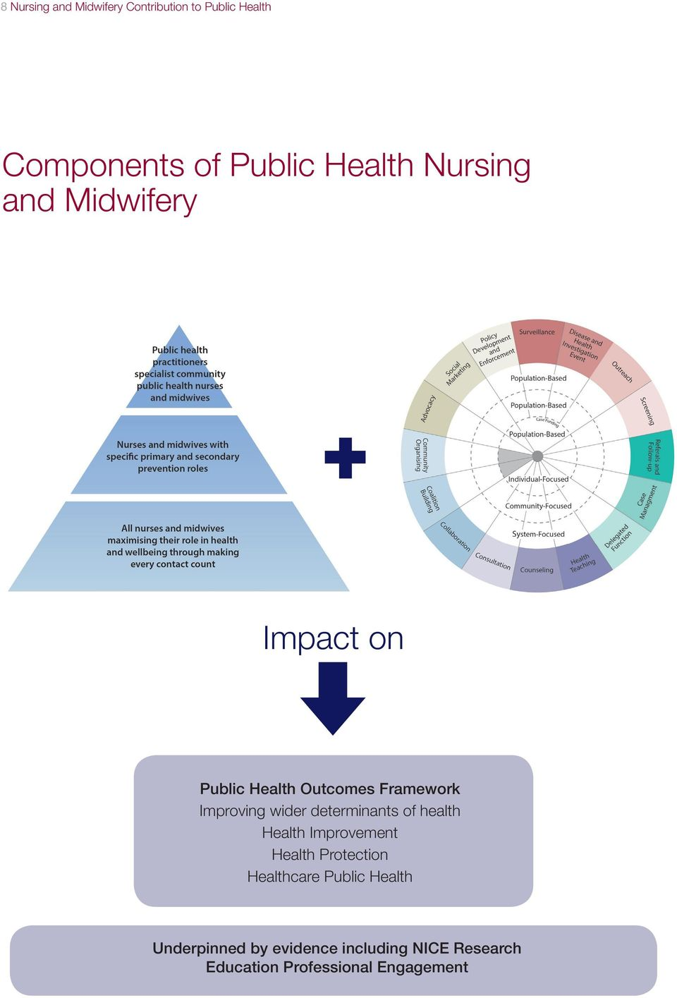 determinants of health Health Improvement Health Protection Healthcare Public