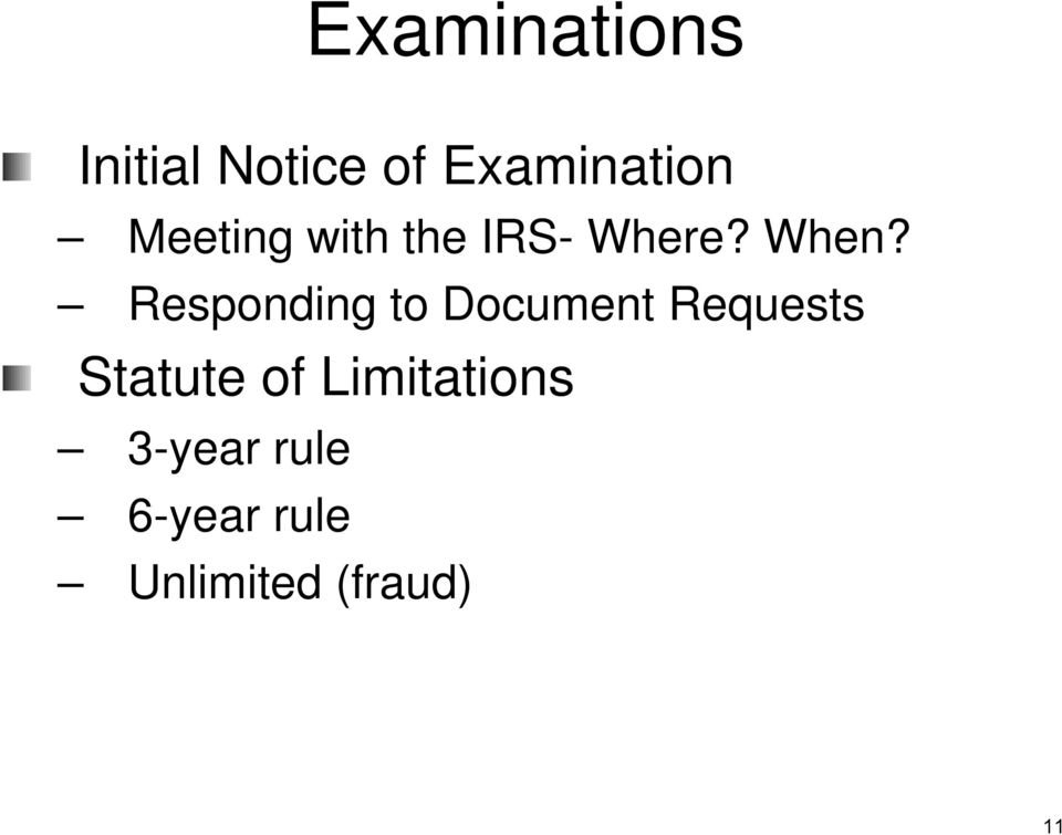 Responding to Document Requests Statute of