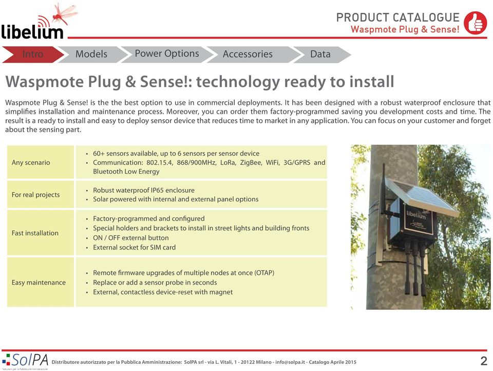 The result is a ready to install and easy to deploy sensor device that reduces time to market in any application. You can focus on your customer and forget about the sensing part.