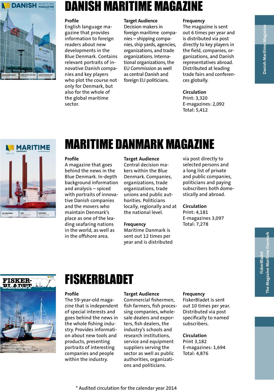 provides information to foreign readers about new developments in the Blue Denmark.