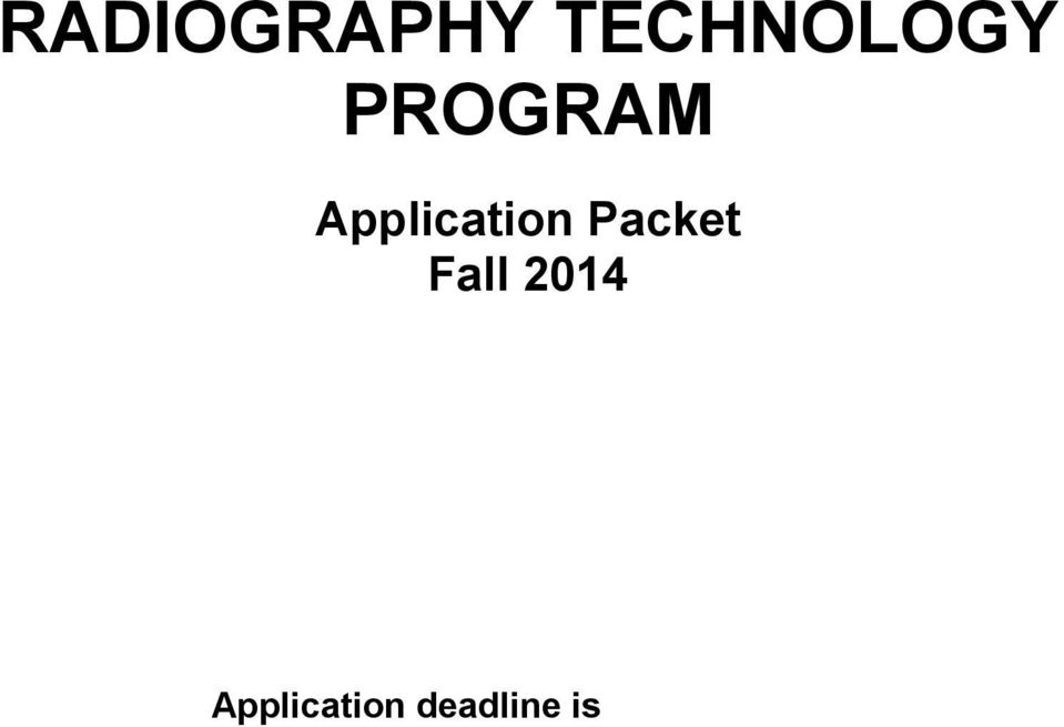 Packet Fall 2014