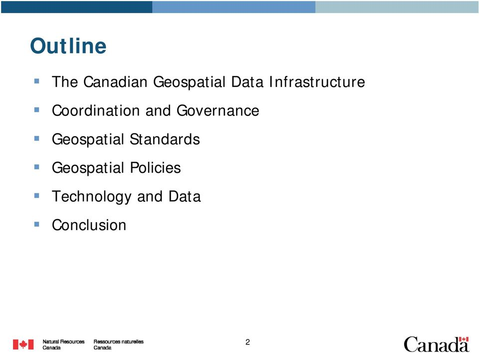 Governance Geospatial Standards