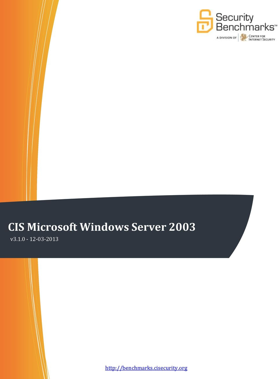 CIS Microsoft Windows Server Benchmark  v - PDF