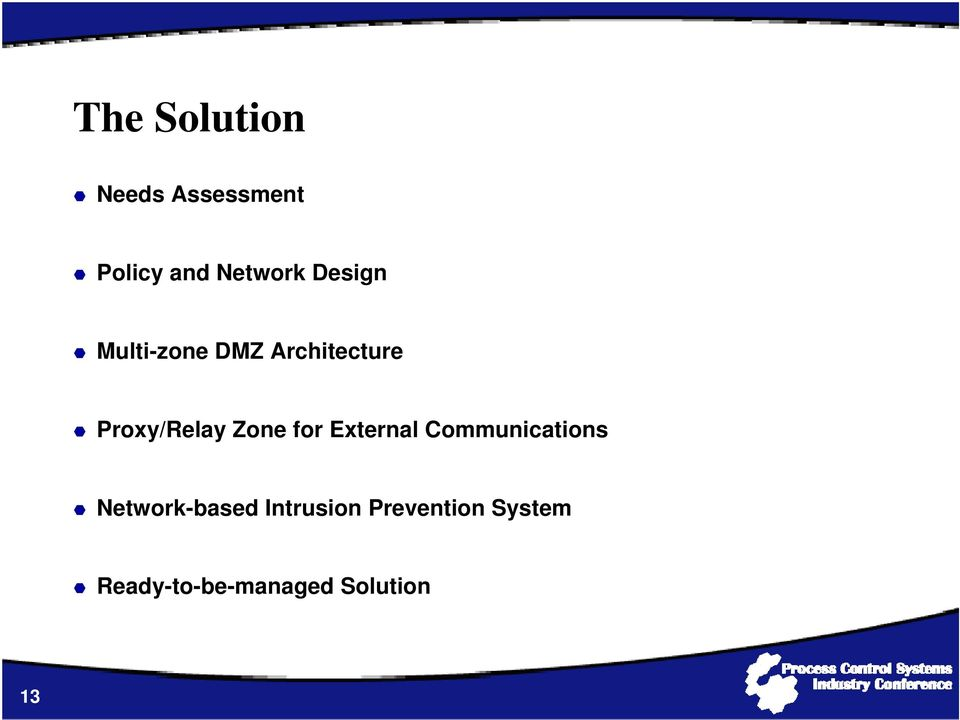 Zone for External Communications Network-based
