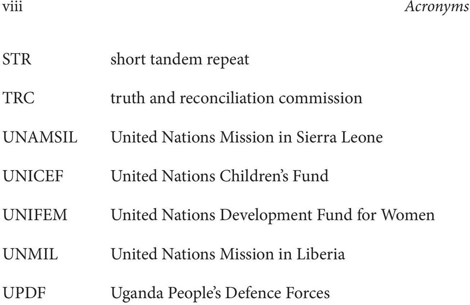 Sierra Leone United Nations Children s Fund United Nations Development