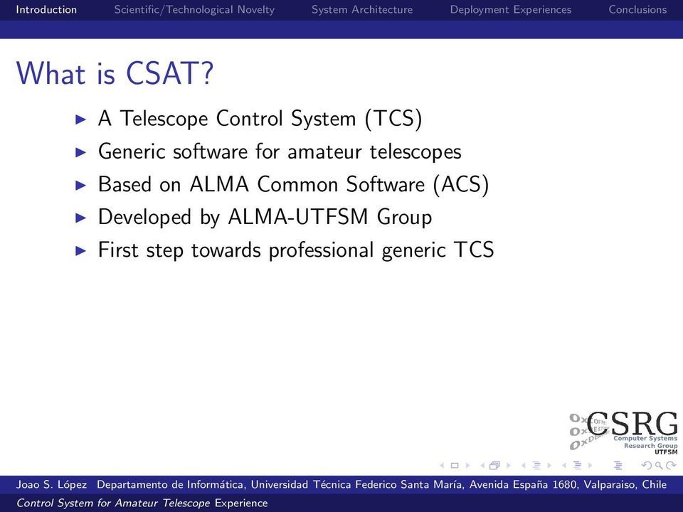 software for amateur telescopes Based on ALMA