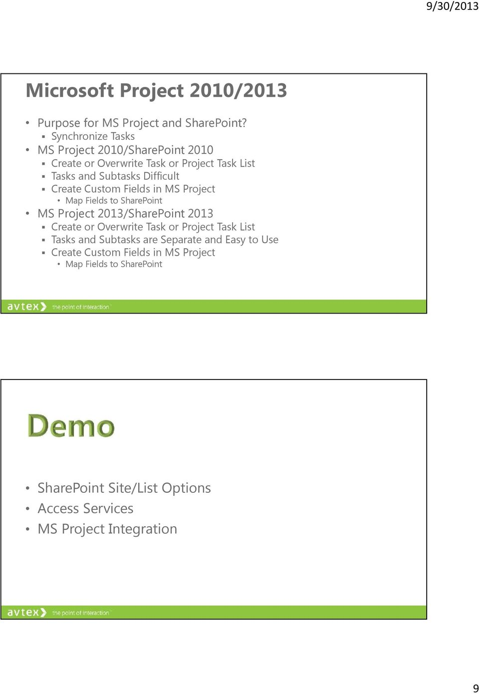 Donald Donais  SharePoint: Out of the Box Project Management PMI-MN