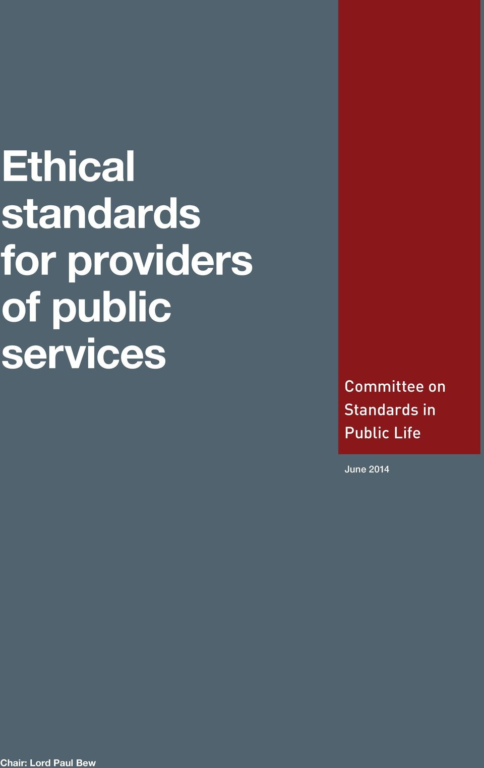 Committee on Standards in