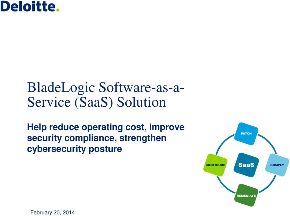 cost, improve security compliance,