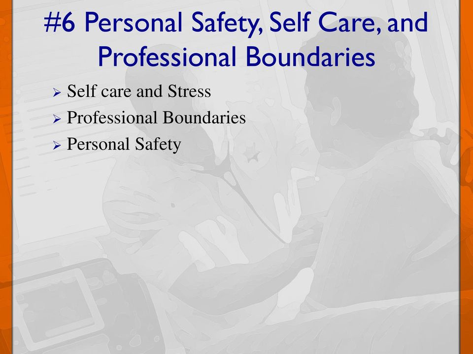 Boundaries Self care and
