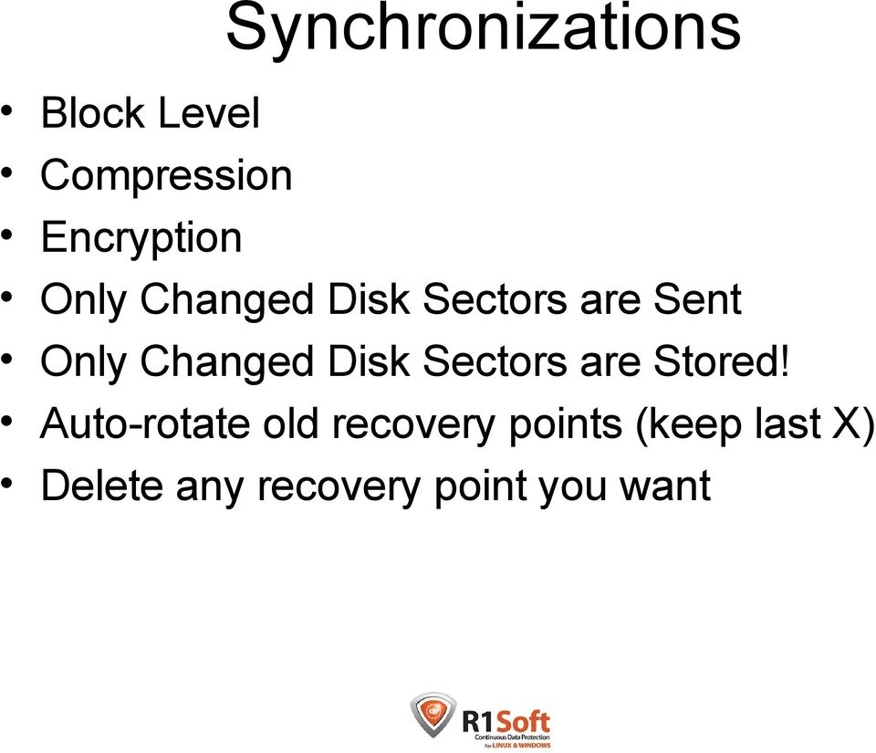 Disk Sectors are Stored!