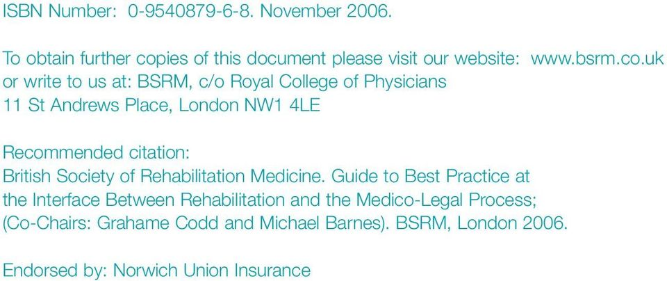 citation: British Society of Rehabilitation Medicine.