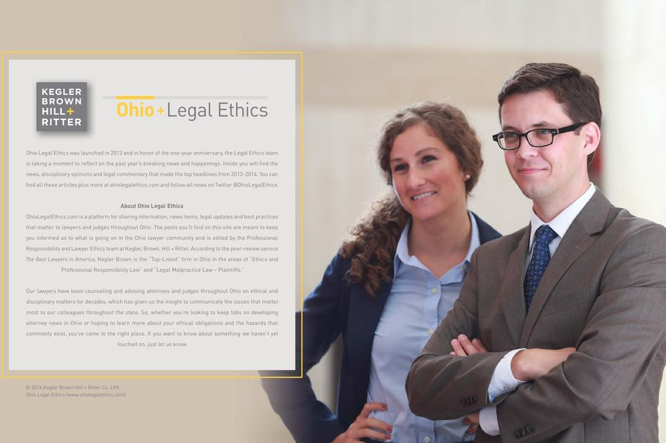 com and follow all news on Twitter @OhioLegalEthics. About Ohio Legal Ethics OhioLegalEthics.