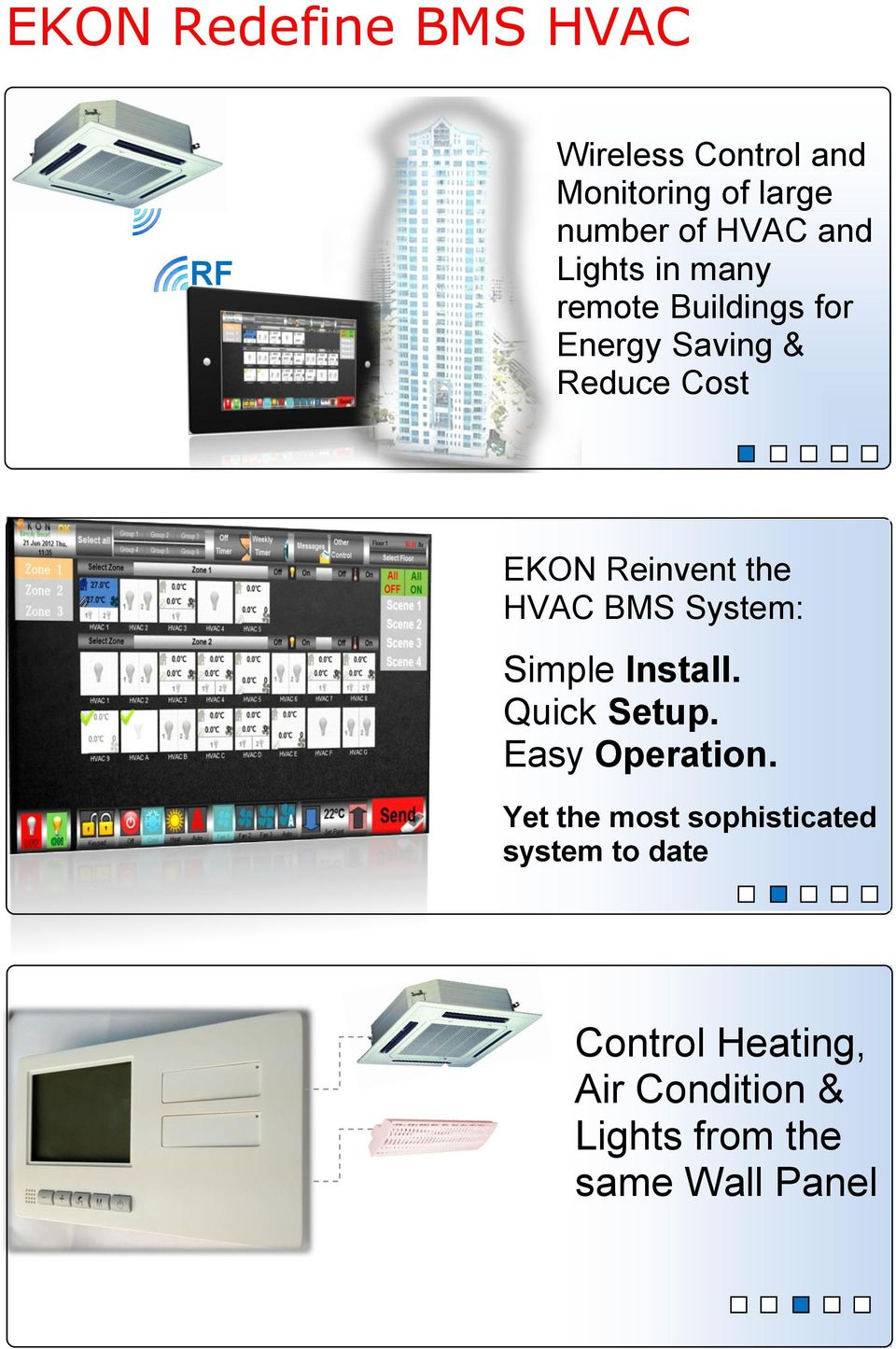 the HVAC BMS System: Simple Install. Quick Setup. Easy Operation.