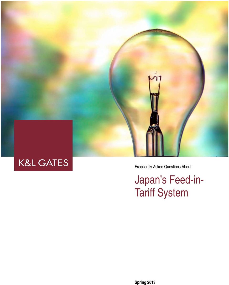 Japan s Feed-in-
