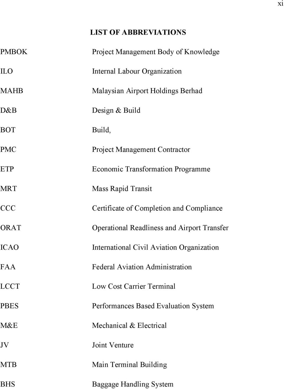 Transit Certificate of Completion and Compliance Operational Readliness and Airport Transfer International Civil Aviation Organization Federal Aviation