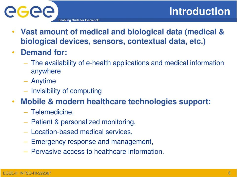 Invisibility of computing Mobile & modern healthcare technologies support: Telemedicine, Patient & personalized