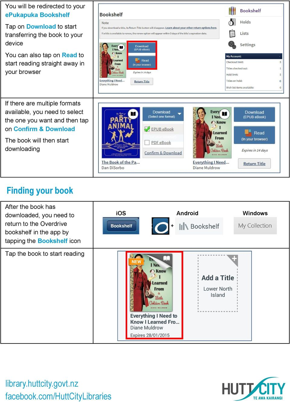 one you want and then tap on Confirm & Download The book will then start downloading Finding your book After the book has