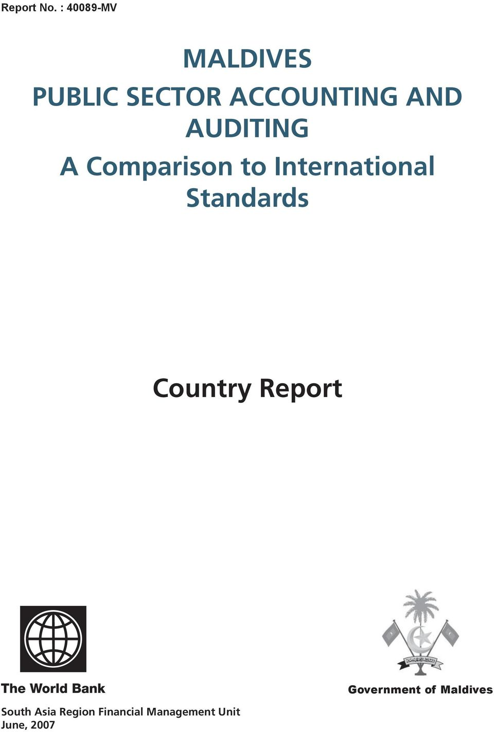 AUDITING A Comparison to International Standards