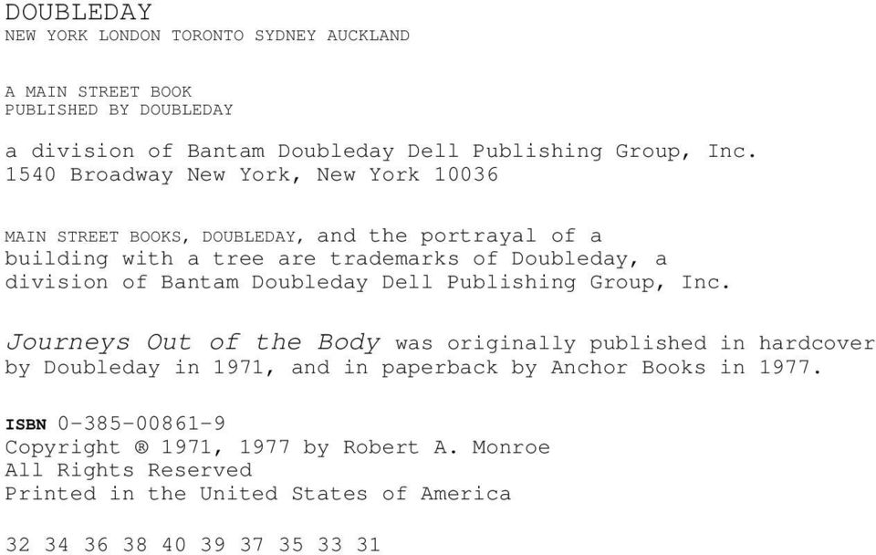 Bantam Doubleday Dell Publishing Group, Inc.