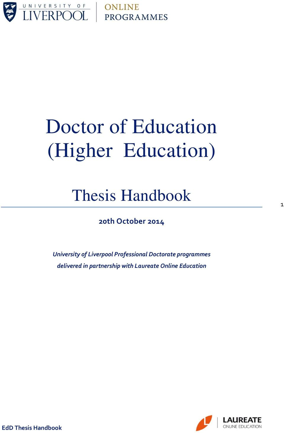 doctor education thesis
