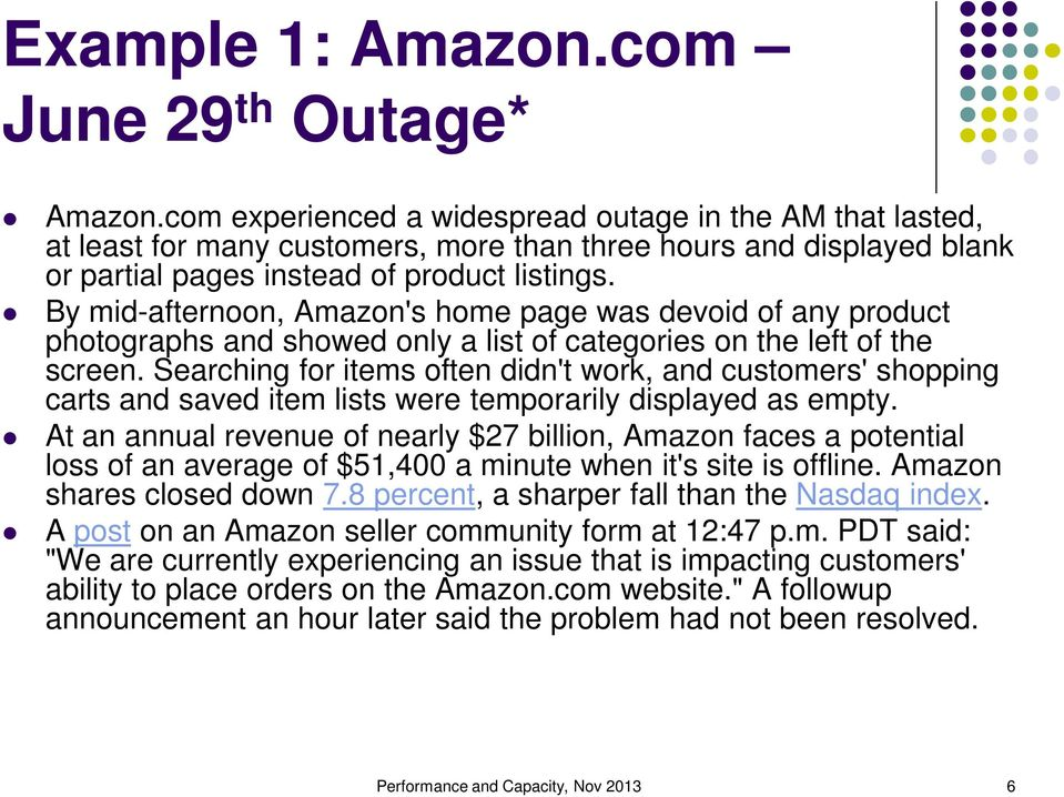 By mid-afternoon, Amazon's home page was devoid of any product photographs and showed only a list of categories on the left of the screen.