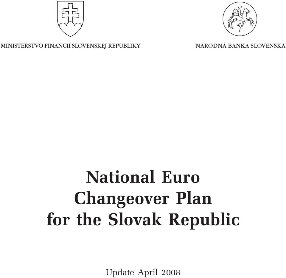 National Euro Changeover Plan for