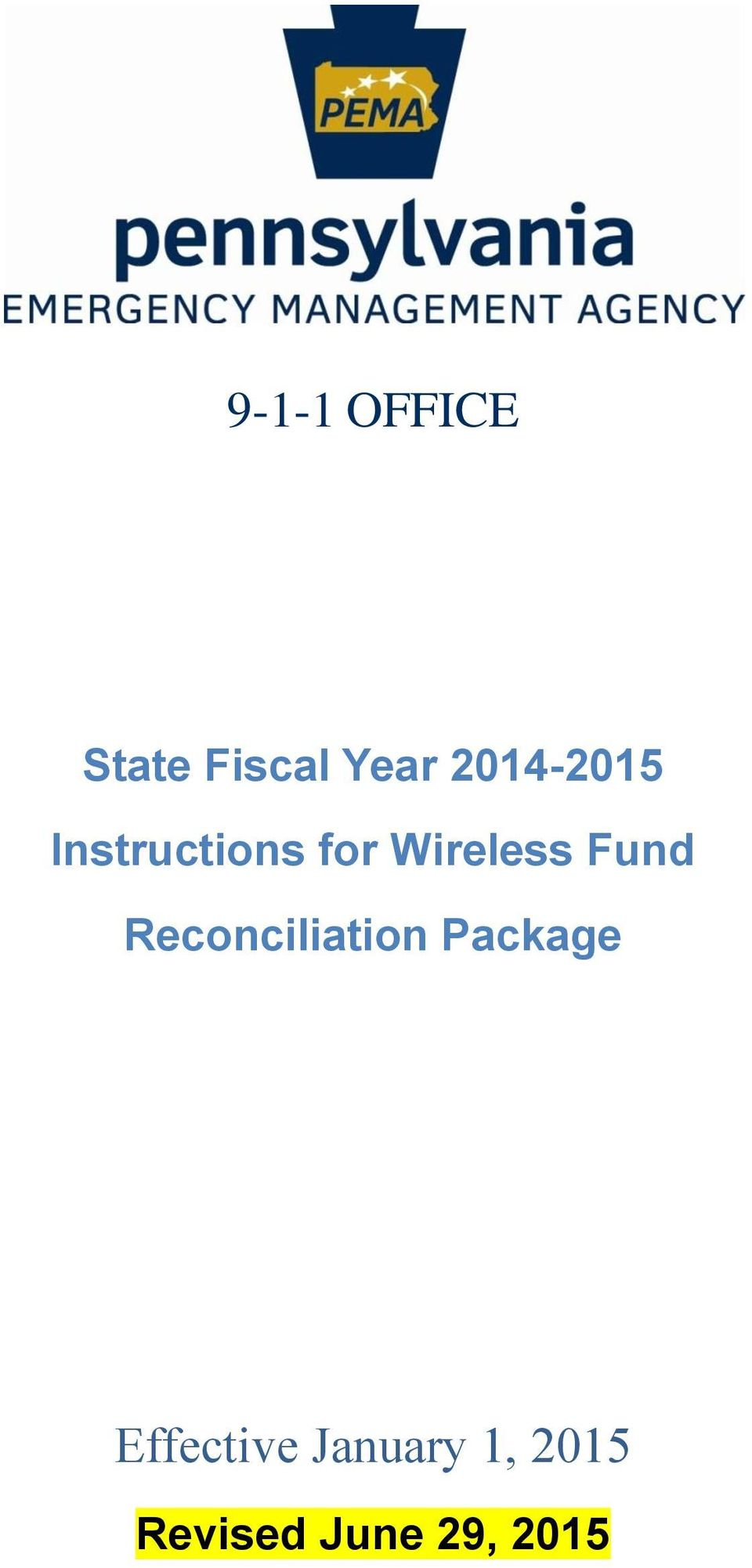 Fund Reconciliation Package