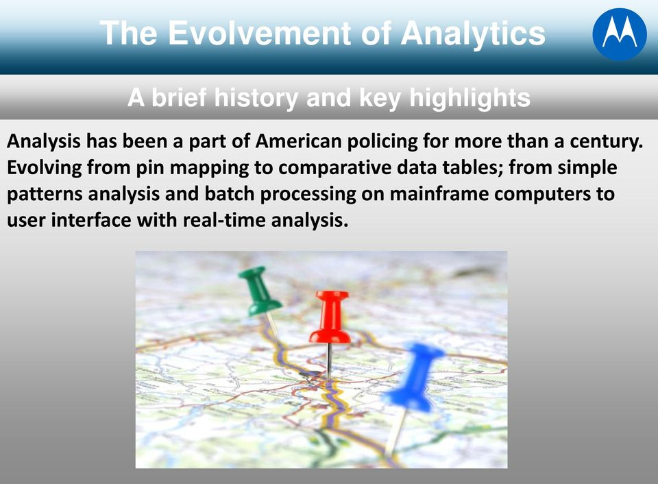Evolving from pin mapping to comparative data tables; from simple patterns