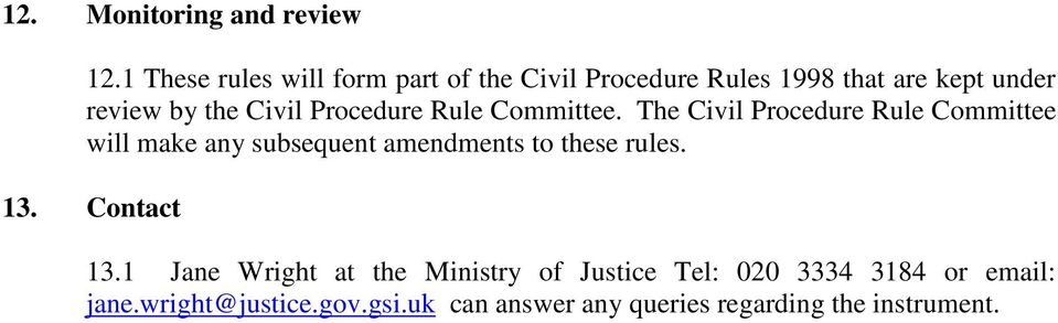 Procedure Rule Committee.