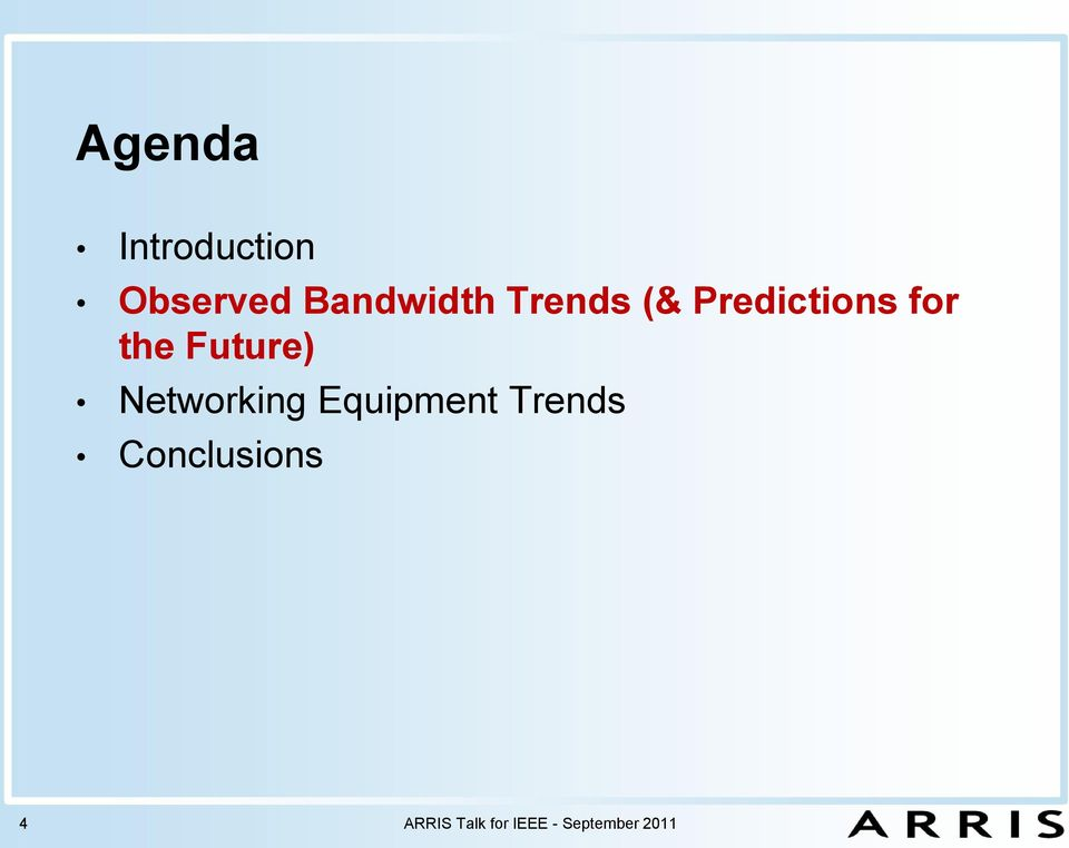Networking Equipment Trends