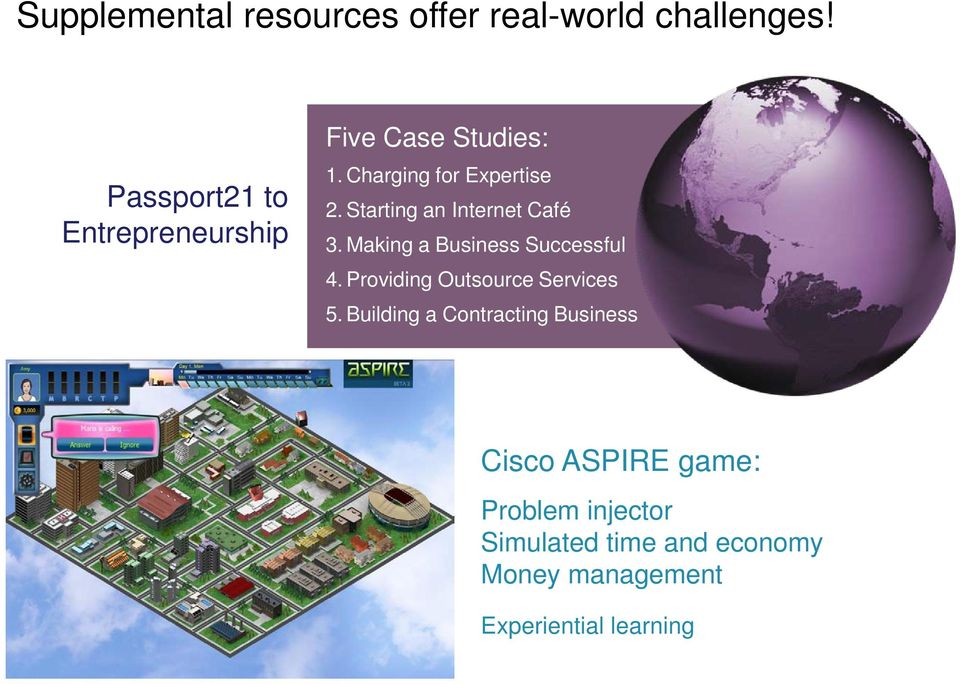 Cisco Networking Academy  Filling critical needs
